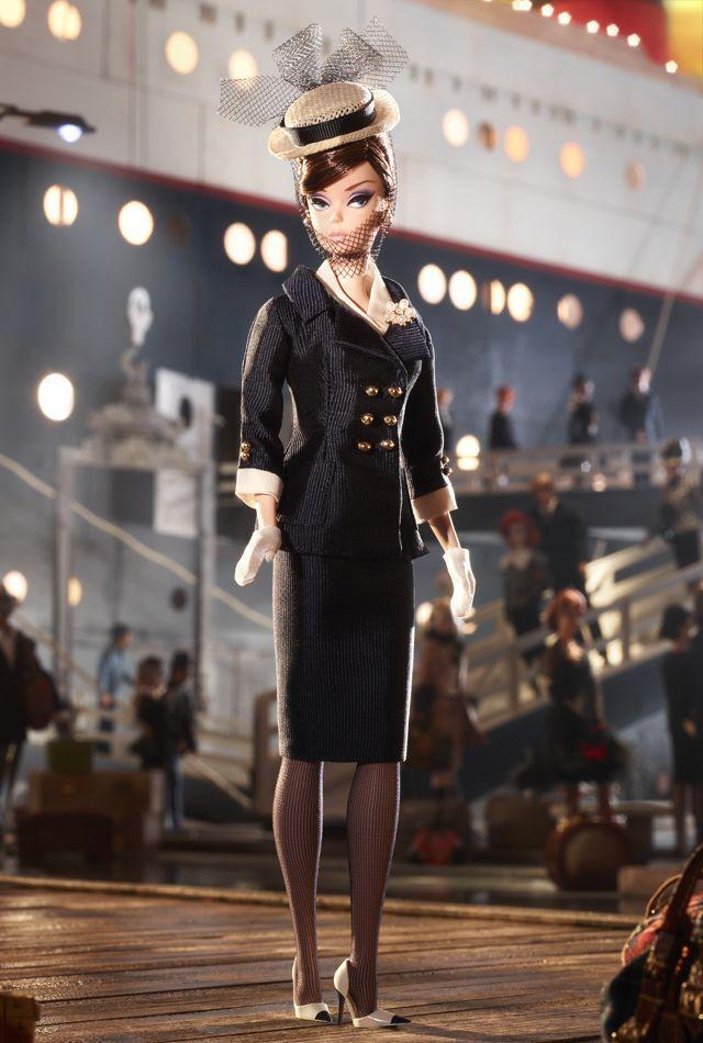 Navegante Ensemble Muñeca Barbie  Cali diseñada por Robert Best --- Bfc Exclusivo
