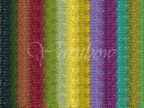 cotton silk wool yarn Lemon-Lime-Wine-Purple-Violet-Greens :Taiyo #44: NORO