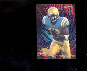 1995-Fleer-J-J-STOKES-San-Francisco-49ers-NFL-Rookie-Prospects-Insert-Card