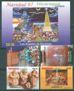 NICARAGUA-Yv-2249-D-G-Bl-272-A-Complete-Set-MNH-VF