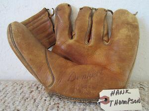 vintage baseball gloves ebay