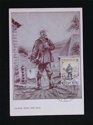 Angemessen Belgien Mk 1966 Journee Timbre Saint Hubert Maximumkarte Maximum Card Mc C5700 Diverse Philatelie