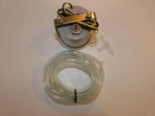 """2/"""" 52mm Car Universal Bar Turbo Boost Gauge Meter Smoke Tint Len LED"""