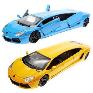 Lamborghini-Aventador-LIMO-Limousine-1-36-Limited-Edition-Rare-NEW