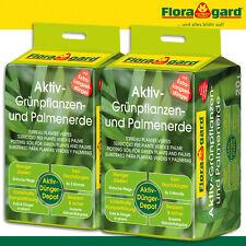 und  Palmenerde 3x 20 Liter 0,50€//L Floragard Aktiv Grünpflanzen