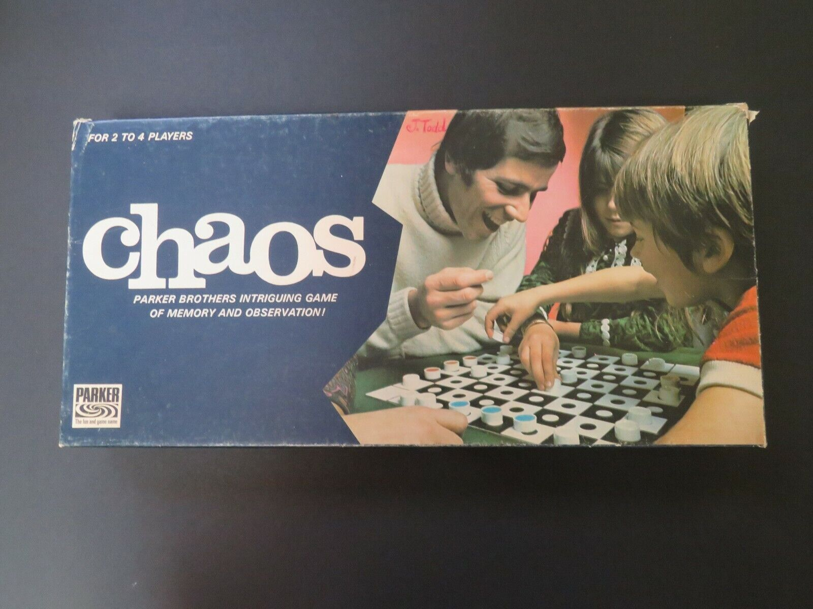 Juegos de tablero de ajedrez clásicos de 1972