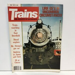 Trains-The-Magazine-Of-Railroading-Back-Issue-May-1979-Gas-Car-Baldwin-To-Japan