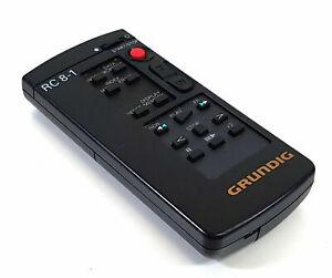MANDO-Grundig-Control-remoto-RC-8-1-Videocamara-Original-Genuino-416AA