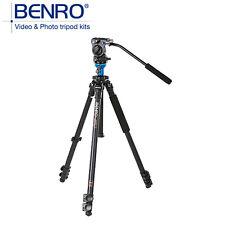 BENRO A1573FS2 Video Tripod Professional Aluminum Camera Tripods With S2 Head