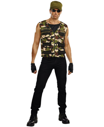 New Dreamgirl 10244 Friendly Fire Man Costume