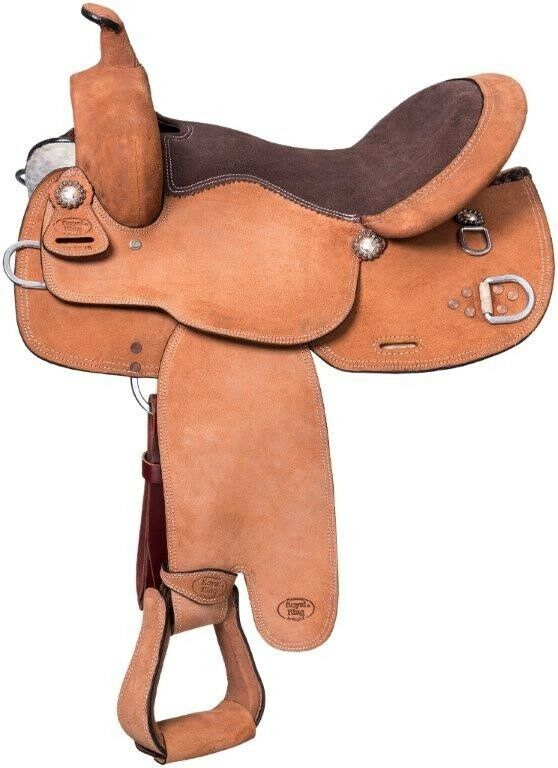 Mule  Western 16 Inch Roughout Training Saddle  best quality