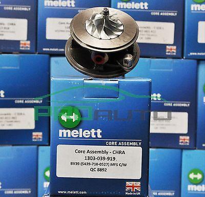 Melett 1303-039-907 Turbo Chra Turbocompresor KKK BV39 Hecho en Reino Unido!