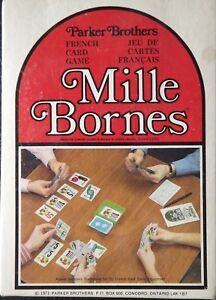 Vintage-Mille-Bornes-Card-Game-1971-Parts-amp-Pieces-Only-You-Choose