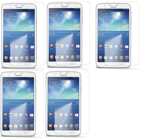 """Clear LCD Screen Protector Cover Guard Film For Samsung Tab 3 8/"""" T3100 T3110"""