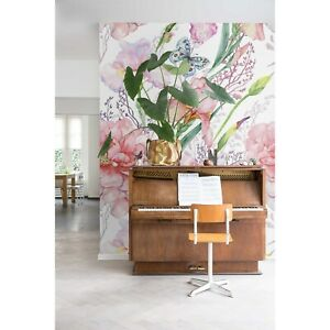 Peonies-flowers-wall-mural-Floral-removable-wallpaper-wall-art-Peel-and-stick