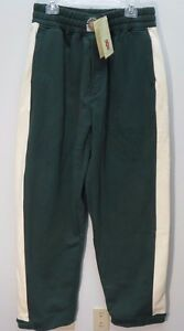 Stall-amp-Dean-Mens-Green-Rucker-Vintage-Warm-Up-Pants-NWT-3XL