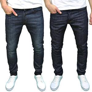 Smith-Jones-Mens-Designer-Branded-Slim-Fit-Jeans-Darkwash-Rinse-BNWT