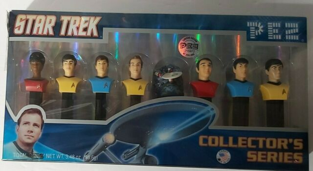 PEZ Star Trek Limited Edition, Numbered collectors Set