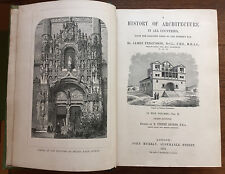 A History of Architecture 1893 book by James Fergusson (Author) dated 1893 Vol.2