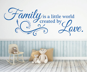 X4583-Wandtattoo-Spruch-Family-is-a-little-world-by-Love-Sticker-Wandaufkleber