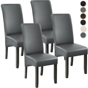 Set 4x Design Sedia per Sala da Pranzo Sedia da Soggiorno Cucina Sedie 106 cm