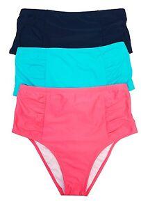bf9fba9b43 Costa Del Sol High-Waist Bikini Bottom Swimwear Juniors  Ladies Plus ...