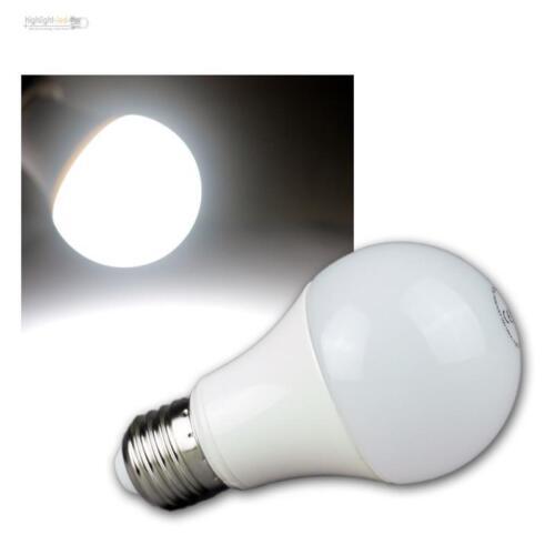 """5 x LED Glühbirne E27 /""""G70 AGL/"""" kaltweiß 820lm 230V//10W Leuchtmittel Glühlampe"""