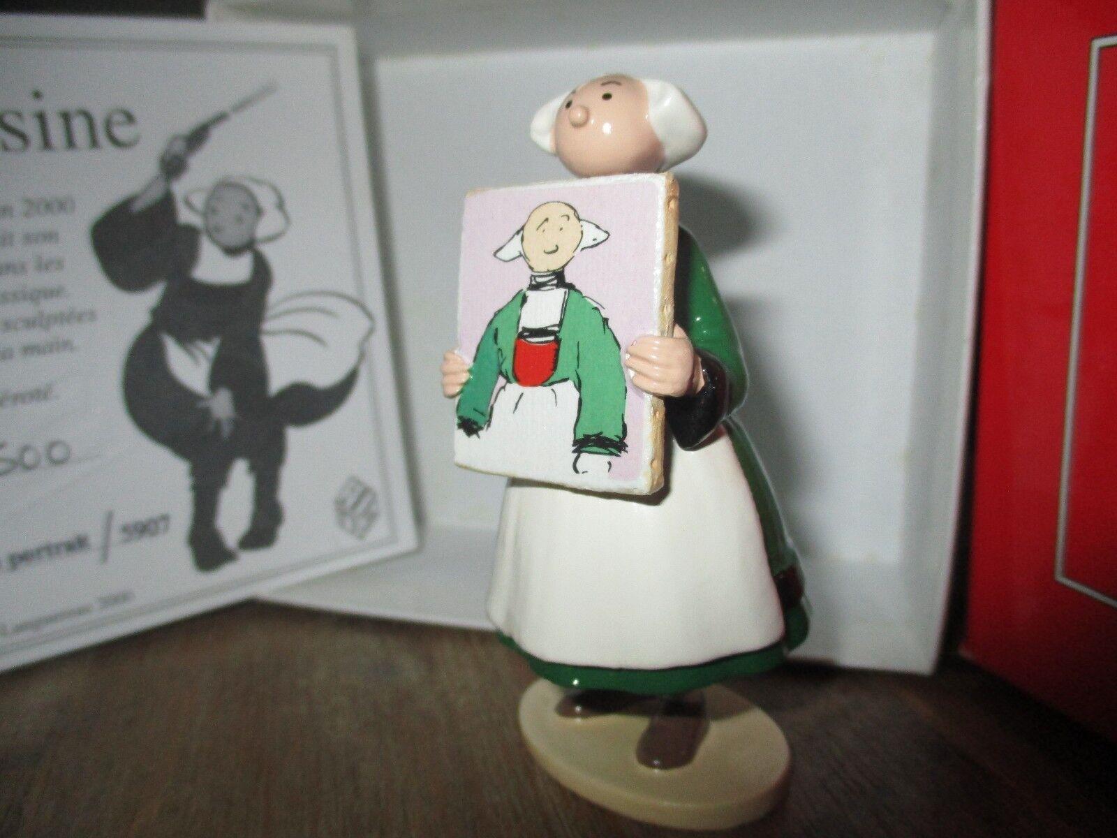 Ancienne collection Pixi-Bécassine et son portrait -boite&certificat ok