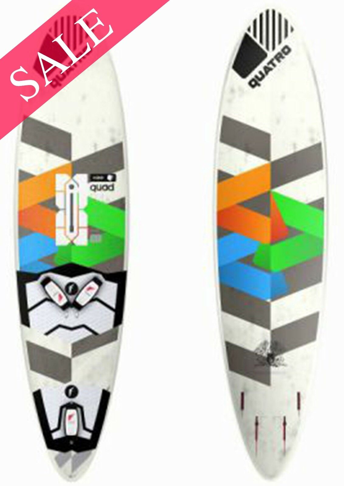 NEW Quatro Cube Quad 72 Liter Windsurf Board RRP SAVE 36%