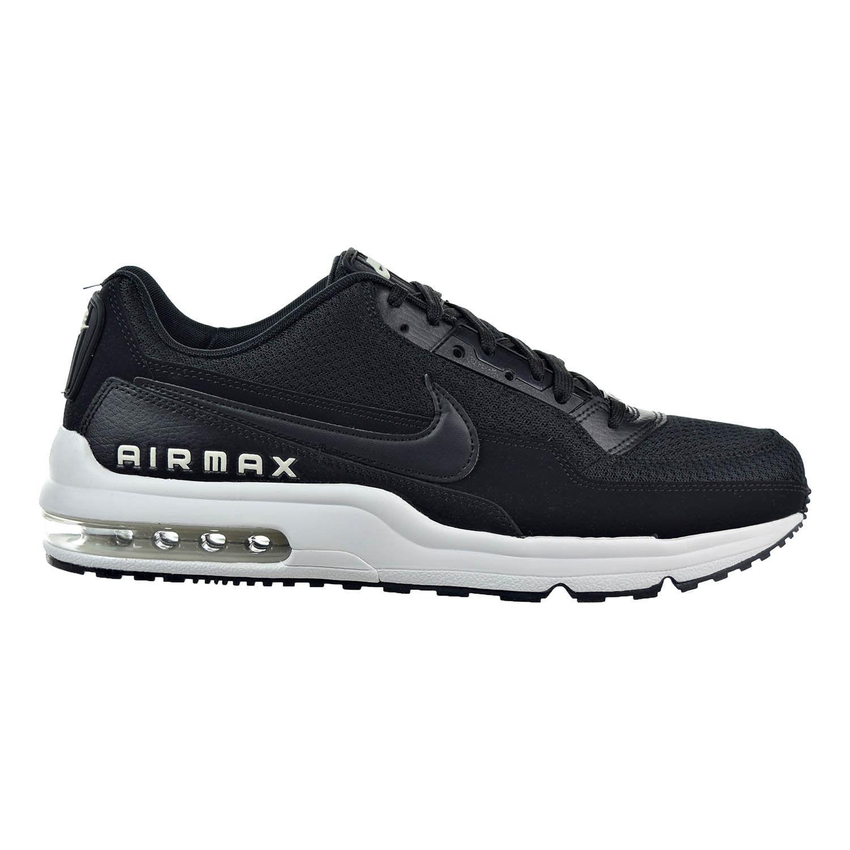 Nike Air Max LTD 3 Prem Nero Pale Grey White 695484-005 Uomo Running Shoes sz 13
