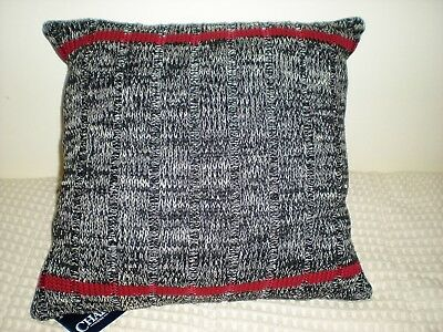 Chaps Hudson River Valley Decorative Knit Throw Pillow New