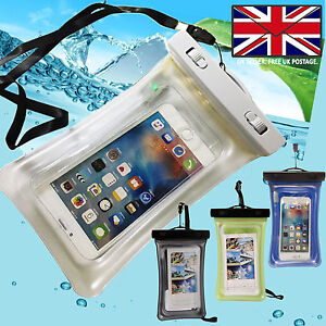 Waterproof-Underwater-Phone-DRY-BAG-Pouch-Case-Cover-WITH-Water-Leakage-Sensor