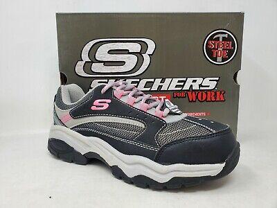 NEW! Skechers Women's Biscoe Steel Toe