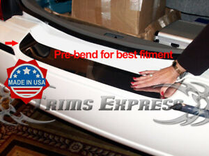 2003-2011-Lincoln-Town-Car-Rear-Trunk-Protector-Accent-Trim-Cover-Door-Chrome