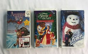 image is loading 3 christmas vhs videos jack frost annabelle s - Annabelle Christmas