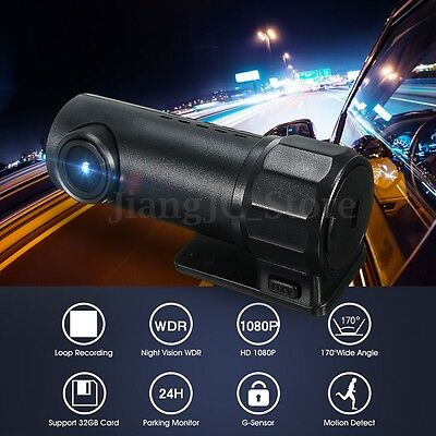 1080P HD Wifi Spy Hidden Car Night Vision Camera DVR Video RecorderDash Cam