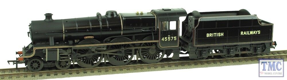 31-190 Bachmann OO Gauge Jubilee 45575 'Madras' Coal,Plates,Glossed,Weathered
