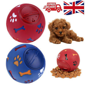 Pet-Puzzle-Toy-Food-Dispenser-Tough-Treat-Ball-Puppy-Doggy-Dog-Interactive-Toys