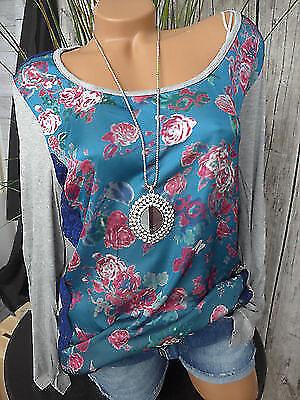 NEU 40//42-56//58 mit Aufdruck Sheego Shirt Bluse Gr 039