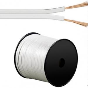 0,70€//m 10m Led Kabel Zwillingslitze 0,75mm² weiß ummantelt 2-adrig