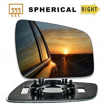 Right Hand Driver Side Vauxhall Zafira B 2005-2009 Convex Wing Door Mirror Glass