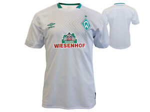 Umbro-SV-Werder-Bremen-3rd-Jersey-Kinder-18-19-weiss-SVW-Trikot-Jungen-134-158