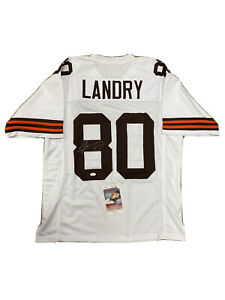 jarvis landry white browns jersey