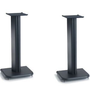 Sanus-BF24-24-034-Basic-Foundations-Speaker-Stands-Pair-Black