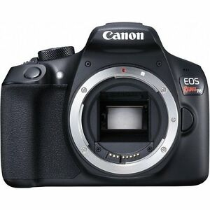 Canon EOS Rebel T6/1300D 18.0 MP CMOS Digital SLR Camera, Body Only *BRAND NEW*