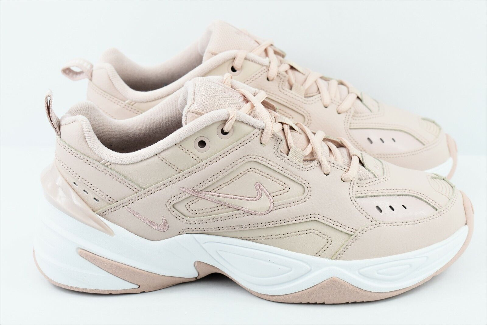 the latest 0d00e ddd4f Womens Nike M2K Tekno Size 9.5 shoes Particle Particle Particle Beige Pink  AO3108 202 272965