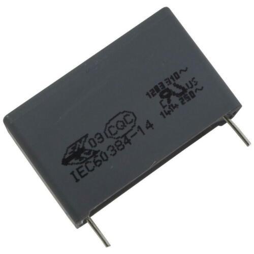 2 KEMET R46KR410000M1M MKP-Radio Noise Condenser 275V 1µF RM27 5 856654