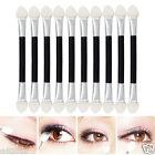12x Double-End Eye Shadow Sponge Brushes Proper Makeup Cosmetic Applicator New