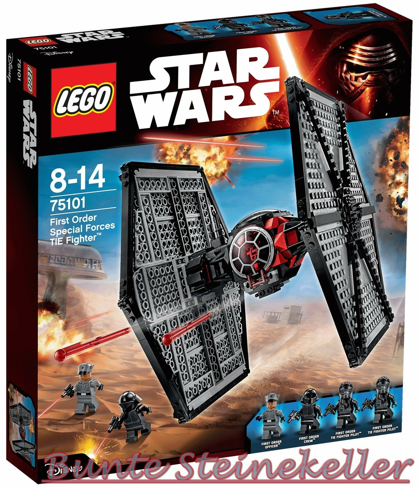 LEGO ® Star Wars ™ 75101 First Order forces spéciales TIE FIGHTER & 0. - livraison NEUF