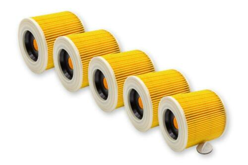 A 2004 5x Patronen-Filter für Kärcher A 2003 A 2101 A 2024 pt A 2054 Me